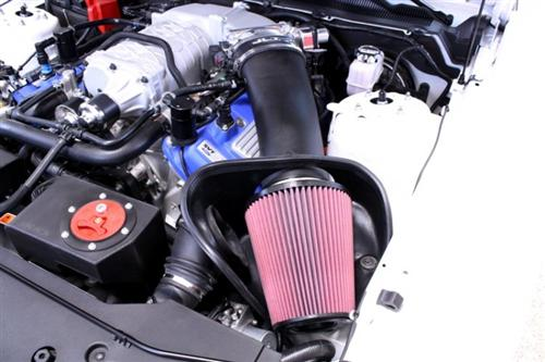 Picture of 2007-09 JLT Black Textured Big Air Intake Kit, GT500  Http://JLTtruecoldair.Com/Zencart/Index.Php?Main_Page=Product_Info&Cpath=283_284&Products_Id=411