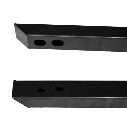 J&M Mustang Jacking Rails  - Black (15-17) 25200B