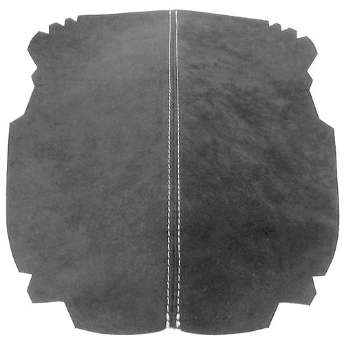 JPM Coachworks Mustang Alcantara Console Lid Cover  - Charcoal w/ Silver Stitching (15-16) F15MC-A02S
