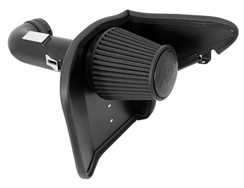 2011-14 Mustang 5.0 K&N Blackhawk Performance Cold Air Intake.