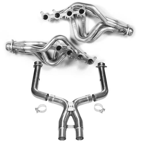 "Kooks Mustang 1-7/8"" Long Tube Headers & Off Road X-Pipe Kit (11-14) GT"