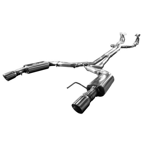 "Kooks Mustang 3"" Off-Road Exhaust Kit w/ X-Pipe (2015) Kooks Headers Connect 11515100"