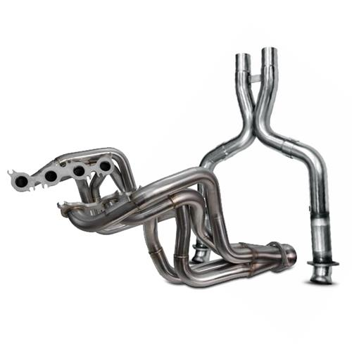 Kooks Mustang GT350 Long Tube Headers w/ Off Road X-Pipe (16-17)