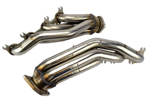 "2011-14 Mustang 5.0L 4V GTshorty Headers 1 7/8"" Primaries 3"" Collectors, 3/8"" Thick Flanges, 304 Stainless Steel Construction Replaces Factory Manifolds, No Cutting or Welding Direct Fit Replacement"