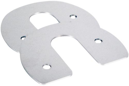 Mustang Hood Hinge Cap Covers Chrome (79-93)