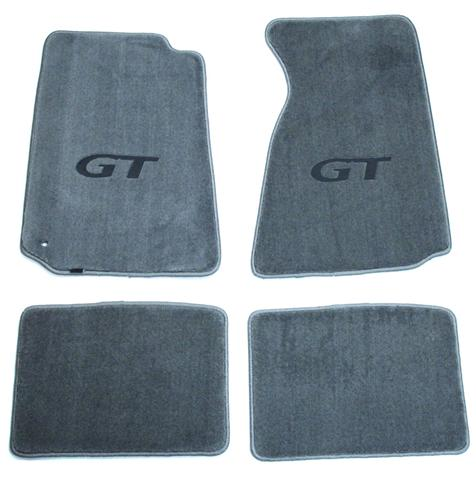Picture of Mustang Flor Mats w/ GT Logo Gray (94-98)