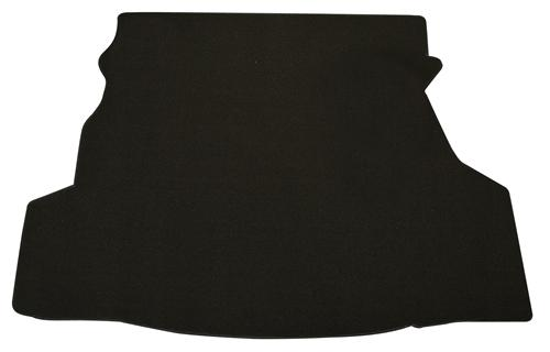 Trunk Mat, w/o Shaker 1000  Black (07-09) Coupe