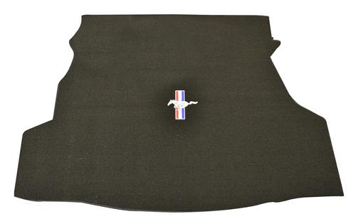 Mustang Trunk Mat w/ Pony Logo Black (07-09) Coupe F008011999-4273