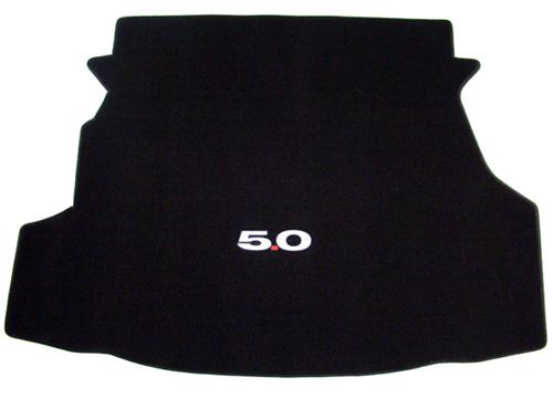 Mustang Trunk Mat w/ 5.0 Logo Black  (11-12) Coupe F030111999-4273