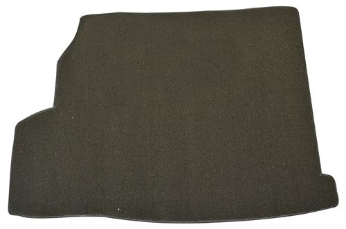 Mustang Trunk Mat, with Shaker 1000 Black  (07-09) Convertible
