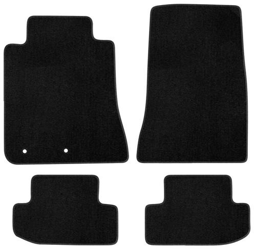 2015 MUSTANG BLACK FLOOR MATS-Plain