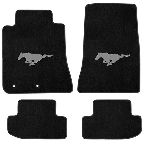 2015 Black Pony Logo Mats No Bars