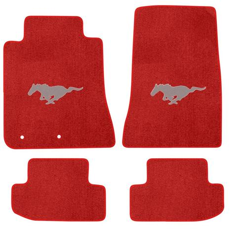 2015 Red Pony Logo Mats No Bars