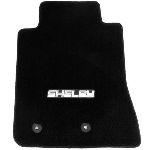 Lloyd  Mustang Floor Mats with Shelby Logo Black (15-16)