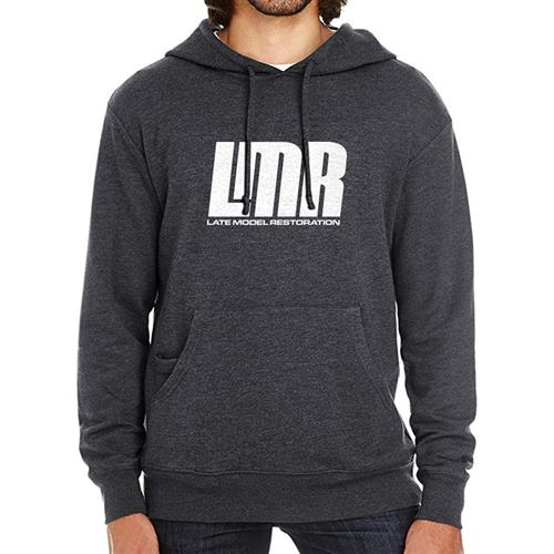 LMR Weekend Hoodie - Large  - Black Heather
