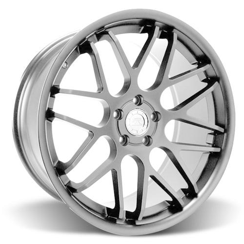 Mustang Downforce Wheel - 20x10 Platinum (05-15) - Mustang Downforce Wheel - 20x10 Platinum (05-15)
