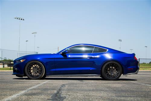 Mustang Downforce Wheel - 20x10 Matte Black (05-16) - Mustang Downforce Wheel - 20x10 Matte Black (05-16)