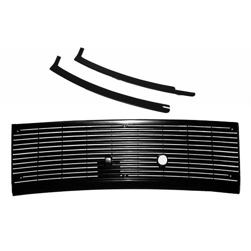 Mustang Cowl Vent Grille And Lower Windshield Molding Kit (83-93) - Mustang Cowl Vent Grille And Lower Windshield Molding Kit (83-93)