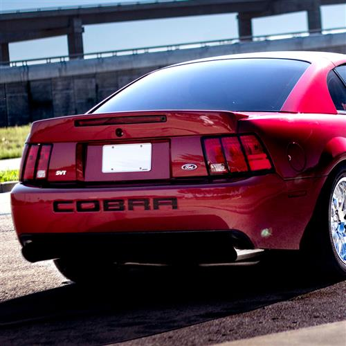 03-04 Cobra Rear Spoiler Mustang W/ 3rd Brake Light Opening (99-04)