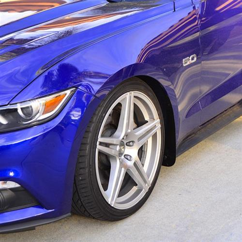 ZL1 Addons Mustang Front Rock Guard Kit (15-17)
