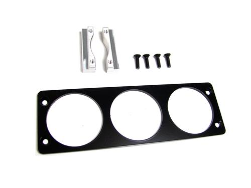"Mustang Radio Bezel - 3 Gauge Panel 2 1/16""  (94-00)"
