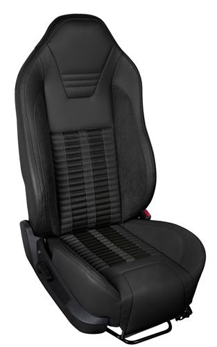 TMI Mustang Sport R500 Upholstery Kit Black (05-07) Coupe 46-78698K-6525-99-6525-BKS - Black Sport R500 Upholstery