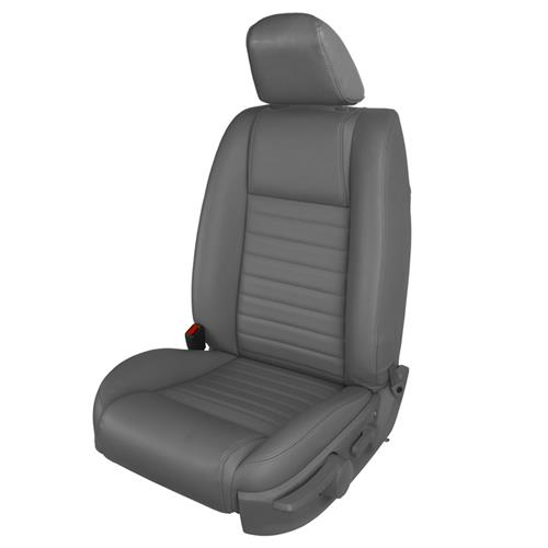 TMI Mustang Vinyl Front Seat Upholstery Kit - Non-Airbag  - Dark Charcoal (05-07) GT 43-78142-6525-991
