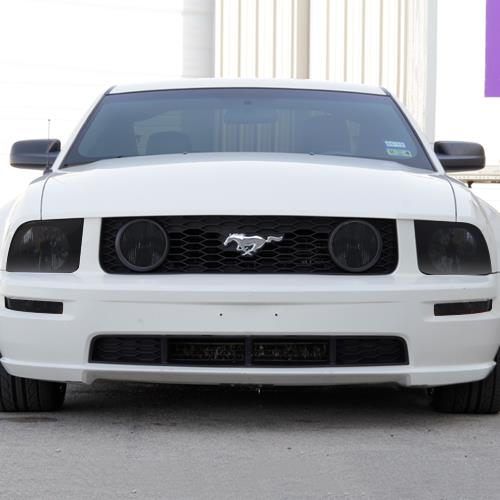 Mustang Smoked Front End Tint Kit 05 09