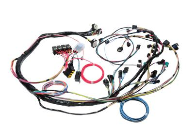 mustang complete wiring harnesses lmr com mustang underhood engine harness manual transmission 05 09