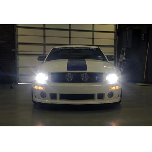 Mustang Headlight & Fog Light LED Bulb Kit (05-12)