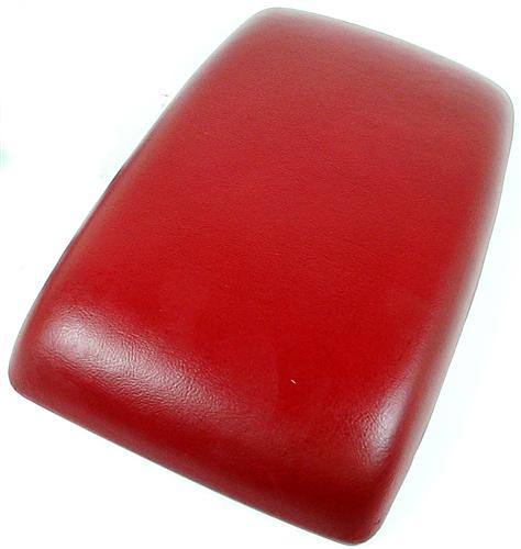 Mustang Center Console Arm Rest Pad Scarlet Red (87-93)