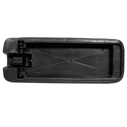 Mustang Console Arm Rest Pad Black (79-86)