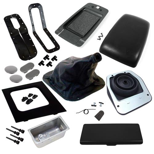 1987-1993 FORD MUSTANG BLACK CONSOLE RESTO KIT - MANUAL