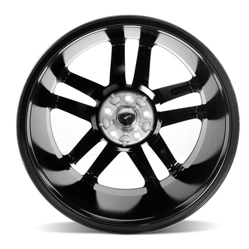 Mustang Boss 302 S Style Wheel 19X9 Black Machined (05-15)