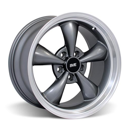 Mustang Bullitt Wheel - 17X9 Anthracite (99-04) - Mustang Bullitt Wheel - 17X9 Anthracite (99-04)