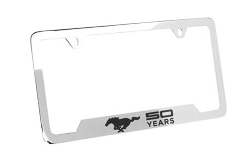 Mustang 50th Anniversary License Plate Frame
