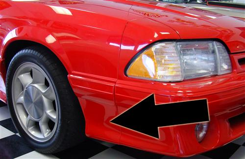 Mustang 93 Cobra Style Fender Extensions (91-93) 4331
