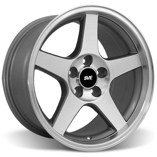 Mustang 03 Cobra Wheel 17x9 Machined 94 04 Lmr