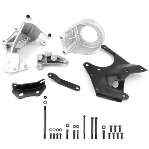 Mustang Engine Accessory Bracket Kit w/ Hardware (85-93) 5.0