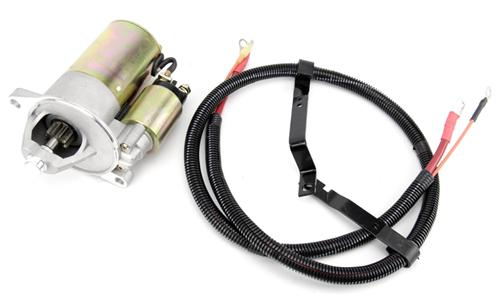 1986-93 Mustang 5.0L Pmgr Style Starter & Oem Style Starter Cable Kit