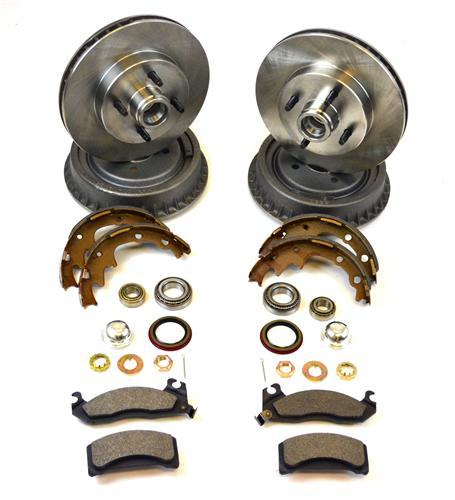 Mustang Replacement Brake Kit (87-93) 5.0