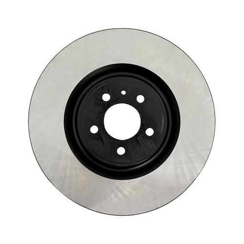 GT500 Premium Front Brake Rotor - High-Carbon Steel (13-14)