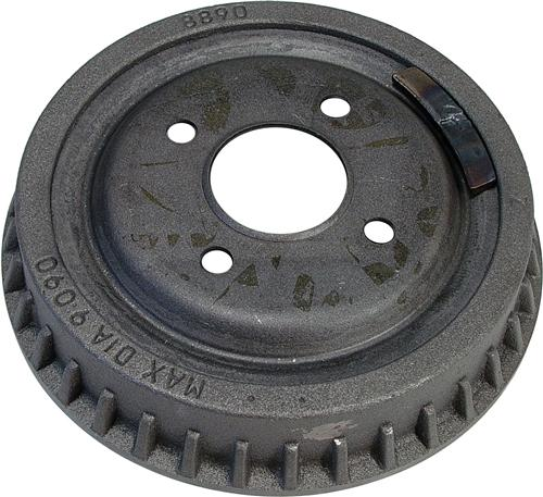 Mustang Finned 4-Lug Rear Brake Drum (79-93) 123.6102