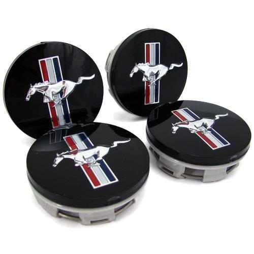 Mustang Bullitt Center Cap, Set Of 4