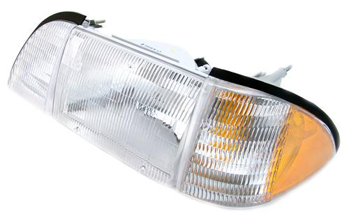 Mustang Headlight Kit w/ Amber Sidemarkers (87-93)