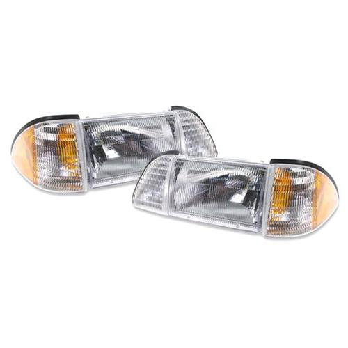 1987-93 Mustang Headlights – Economy Headlight Kit