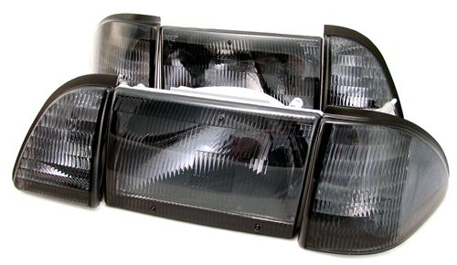 SVE Mustang Smoked Headlight Kit (87-93)
