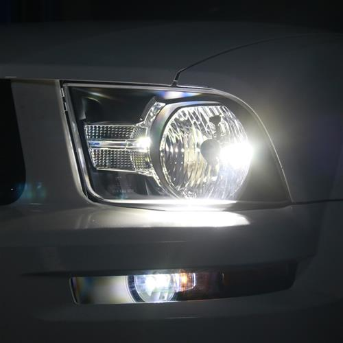 Mustang Gen 2 Headlights Clear Reflector 05 09 Lmr
