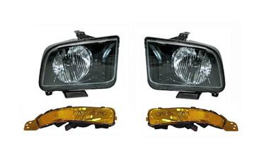 SVE Mustang Headlight & Park Light Kit (05-09)