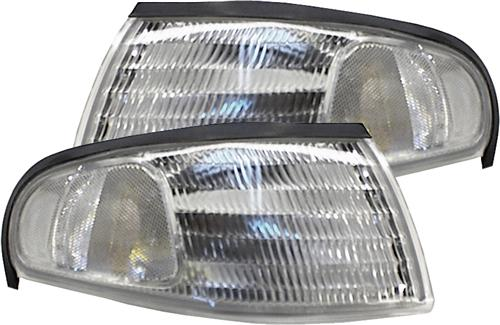 94-98 MUSTANG CLEAR SIDE MARKERS